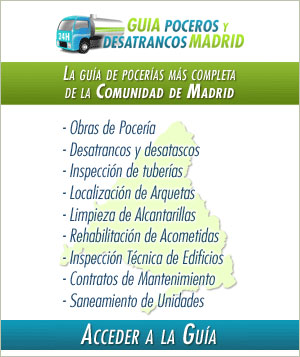 Guía pocero y desatrancos Madrid
